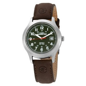 Timex T40051 Expedition Metal Leather