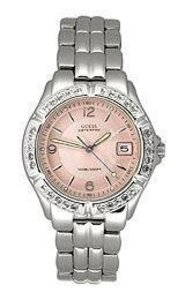 Guess Womens G75791m Stainless Steel Quartz