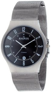 Skagen Mens 233xlttm Titanium Watch