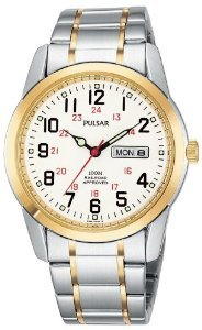 Pulsar Mens Pj6008 Dress Watch