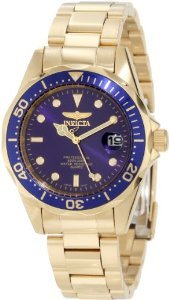 Invicta Diver Collection Gold Tone Watch