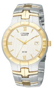Citizen Quartz Date White Watch