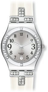 Swatch Womens Yls430 Quartz Stainless