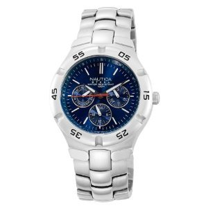 Nautica N10061 Metal Round Multifunction