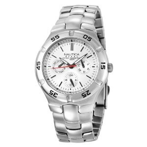 Nautica N10074 Metal Round Multifunction