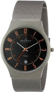 Skagen Mens 233xlttmo Titanium Watch