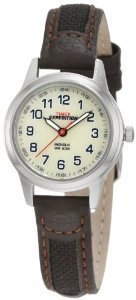 Timex Womens T41181 Expedition Leather