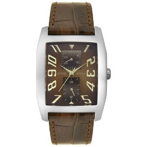 Guess 85746g Brown Leather Watch