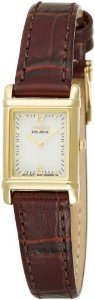 Citizen Womens Eco Drive Leather Ew8282 09p