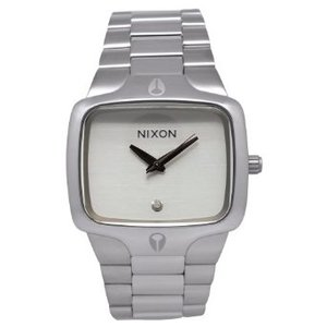 Mens Player Watch Color Silver