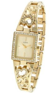 Guess Devotion Gold Tone Ladies U95081l1