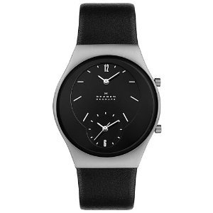 Skagen Midsize 733xlslb Collection Leather