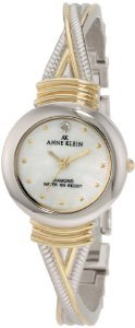 Anne Klein 109069mptt Accented Two Tone