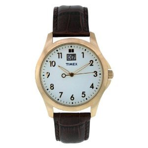 Timex Classic Leather White T2n2489j