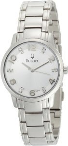 Bulova Womens 96p111 Diamond Bracelet