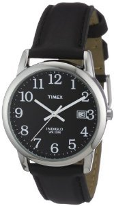 Timex T2n370 Reader Black Leather