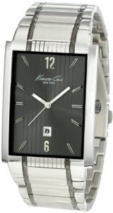 Kenneth Cole Kc3921 Classic Rectangular