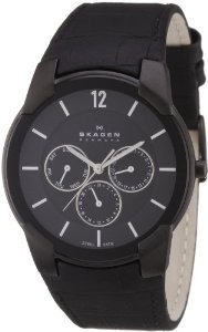 Skagen 856xlblb Steel Black Multifunction