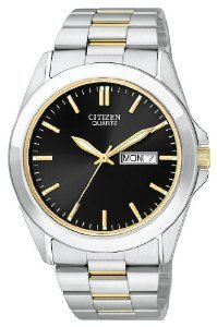 Citizen Quartz Date Black Watch
