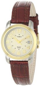 Timex Elevated Classics Bi Metal Leather
