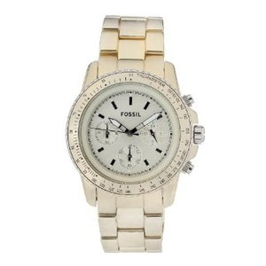 Fossil Womens Ch2708 Chronograph Aluminum
