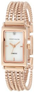 Anne Klein 109414mprg Accented Rosegold Tone