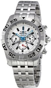 Invicta Signature Silver Chronograph Stainless