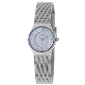 Skagen Womens 233xssmp Mother   Pearl
