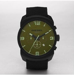 Diesel Chronograph Olive Watch Dz4194