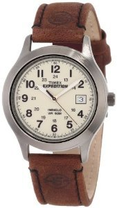 Timex T49870 Expedition Metal Leather