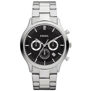 Fossil Fs4642 Ansel Stainless Steel