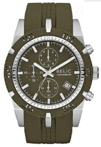 Relic Fossil Chronograph Olive Zr66042