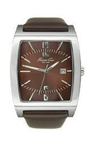 Kenneth Cole Leather Brown Kc1794