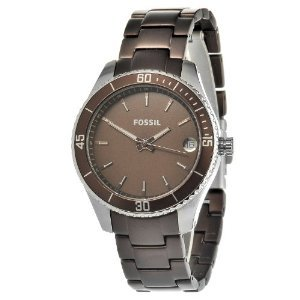Fossil Womens Es3041 Aluminum Stainless