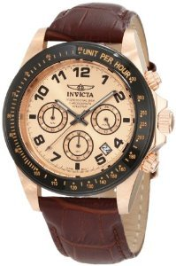 Invicta 10711 Speedway Chronograph Leather