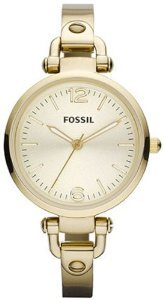 Fossil Womens Georgia Gold Tone Stainless