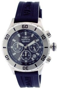 Invicta Signature Chronograph Black Watch