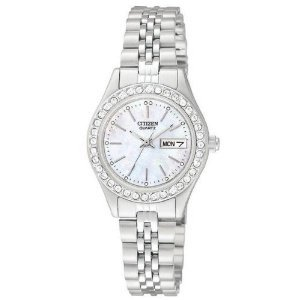 Citizen Quartz Stainless Bracelet Womens