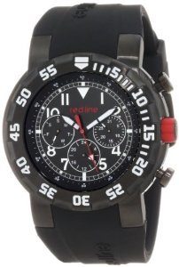 Line Rl 50027 Bb 01w Black Silicone Watch